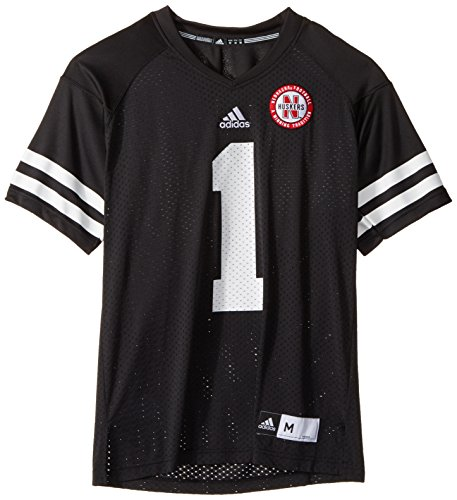 (adidas NCAA Nebraska Cornhuskers Men's Replica Football Jersey, Black, Medium)