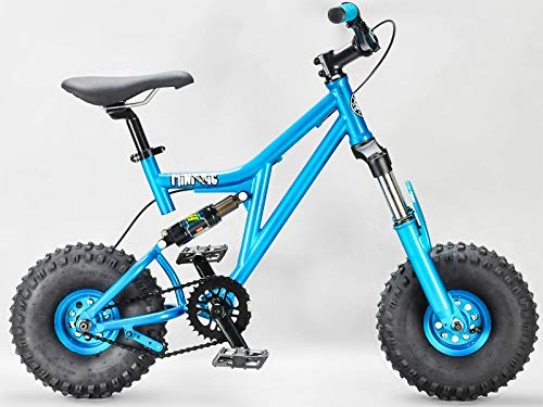 MINIRIGTEALTEAL Mini Rig Rocker Mini BMX Bike Teal Mini MTB Downhill Bike (Best Mini Bmx Bike)