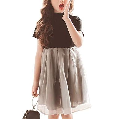 43bd6558edad4 超ナイス 女の子 子供ドレス フォーマル プリンセス 薄手 オーガンジー ふんわり ウエスト切り替え 韓国風 結婚式