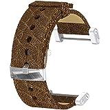 Suunto Core Leather Strap Accesorios Unisex adulto, Marrón, Única
