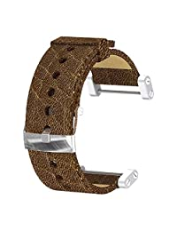 Suunto Core Wrist-Top Computer Watch Replacement Strap (Brown, Leather)