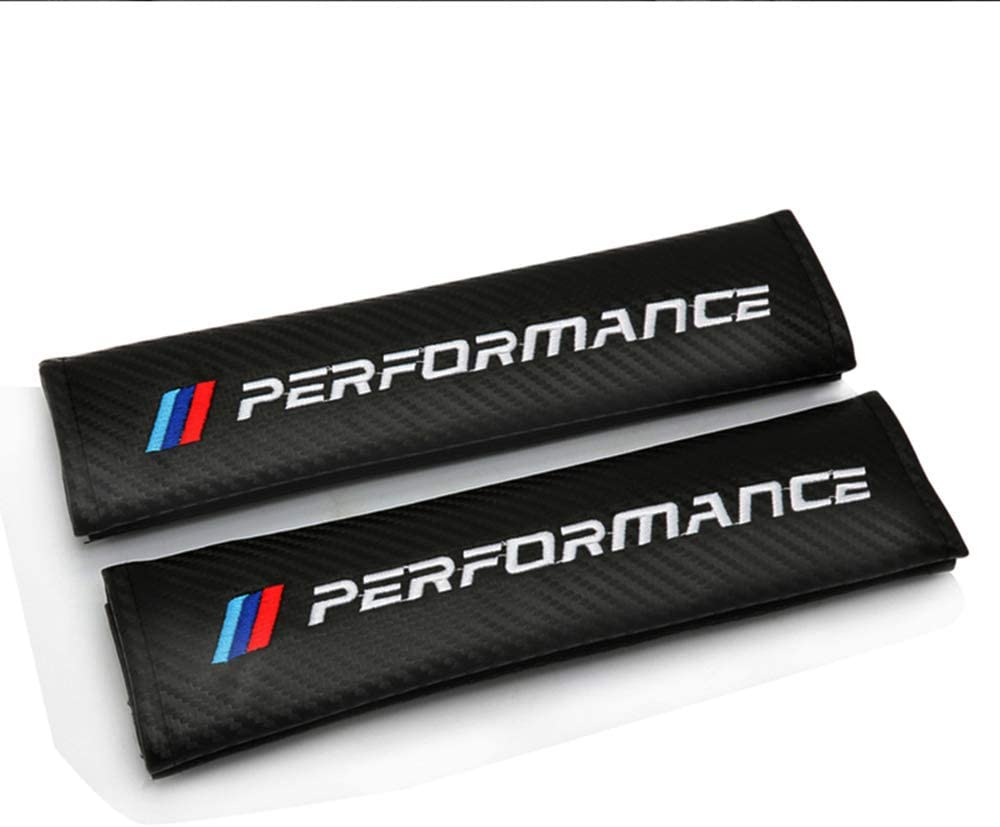N//A 2PC Coussinets de Ceinture de s/écurit/é de Voiture Protecteur de Ceinture de s/écurit/é Soft Comfort pour BMW M E36 E34 F10 E90 F30 F20 X3 E53 E70 g30 E30 E36