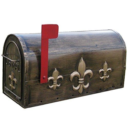 LL Home Fleur-De-Lis Mailbox