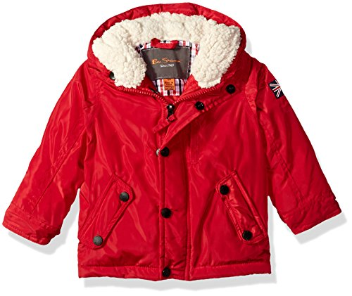 Ben Sherman Baby Boys Fashion Outerwear Jacket (More Styles Available), Red, 12M