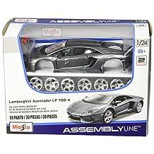 Maisto Lamborghini Aventador LP 700-4 Kit Diecast Vehicle, Scale 1:24