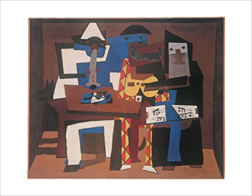 Three Musicians by Pablo Picasso - Art Print / Poster 11x14 inches