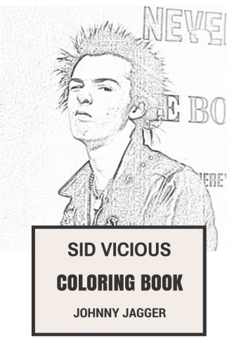 Book: Punk Icon RIP Legendary Bass Talent and F*ck Attitude Inspired Adult Coloring Book (Coloring Book for Adults) ()