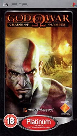 Amazon com: God of War Chains of Olympus PSP Game NEW: Video Games