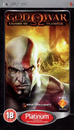 God of War Chains of Olympus PSP Game NEW