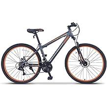 "ORKAN 27.5"" Mountain Bike Hybrid Bike 21 Speeds & Full Suspension & Shimano…"