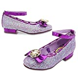 Disney Rapunzel Costume Shoes for Kids - Tangled: The Series Size 9/10 YTH Purple