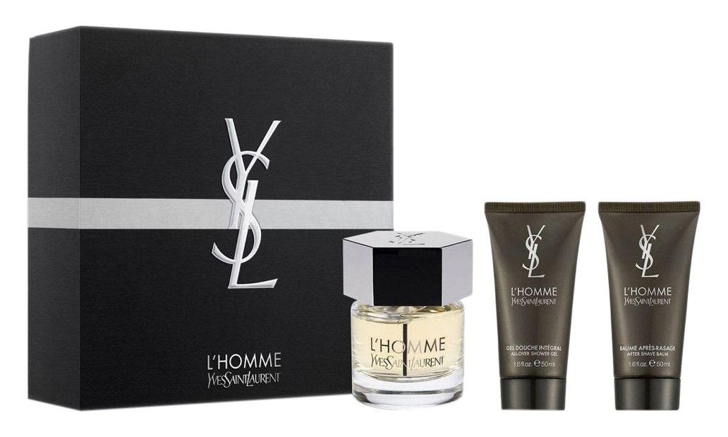 Yves Saint Laurent Ysl l' homme Eau de Toilette spray, set regalo, 60ml, 2pezzi 3614271539502