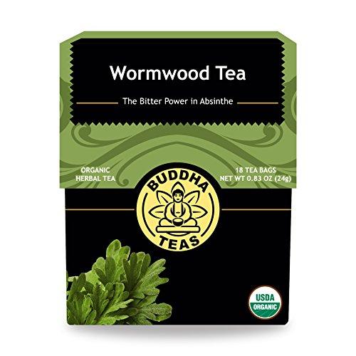 Organic Wormwood Tea Caffeine Free Bleach Free