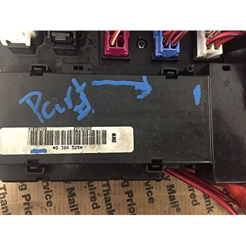 Fuse Box Block BMC Module BMW X5 E53 3.0 | 8 380 407 | 50 ... X G Box Fuse on