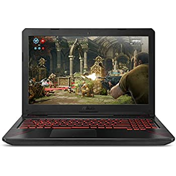 "ASUS TUF Thin & Light Gaming Laptop PC (FX504) 15.6"" Full HD, 8th-Gen Intel Core i5-8300H (up to 3.9GHz), GeForce GTX 1050 2GB, 8GB DDR4 2666 MHz, 1TB FireCuda SSHD, Windows 10 64-bit"