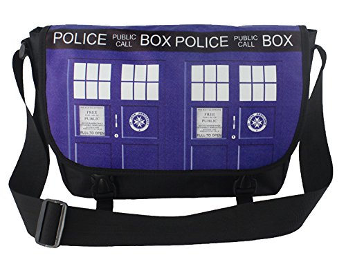 E.a@market Anime Canvas Cartoon Sigle Shoulder Messenger Bag,Doctor Who
