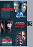 Hollow man / JF partagerait appartement / 8 mm - Coffret Flixbox 3 DVD