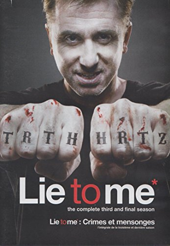 - Lie To Me: The Complete Third and Final Season
