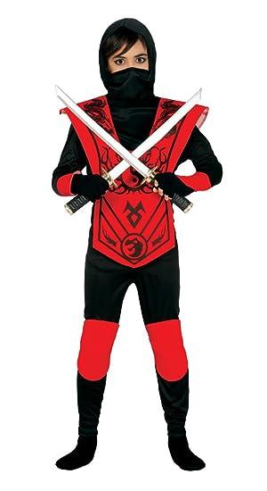 Guirca - Disfraz de ninja, talla 3-4 años, color negro (83256 ...