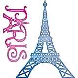 Cheery Lynn Designs B657 Paris Eiffel Tower Set