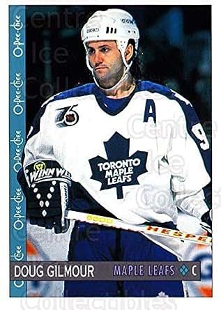 96fb58cad Amazon.com  (CI) Doug Gilmour Hockey Card 1992-93 O-Pee-Chee (base ...