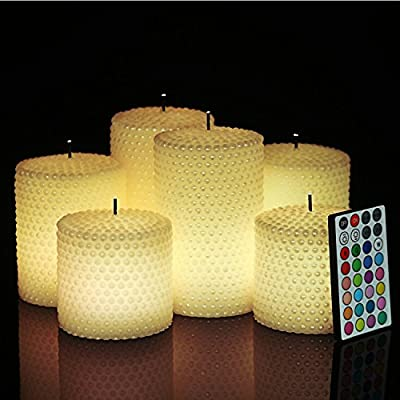 Six Pear Candles