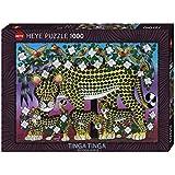 Heye - Heye-29427 - Puzzle Classique - Wildcat Family - 1000 Pièces