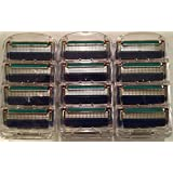 LSQtronics 12 pcs Generic Replacement 5-Blade Razor Cartridges Model Fusion proglide Compatible with Gilllette handle