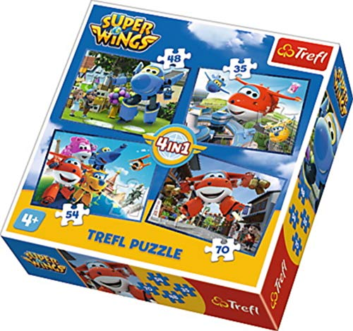 Puzzle 4 In 1 Team Awesome