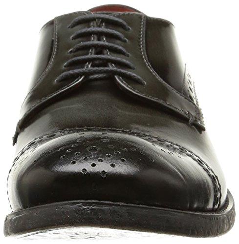 Base London Cambell - Zapatos Hombre Gris (hi shine grey)