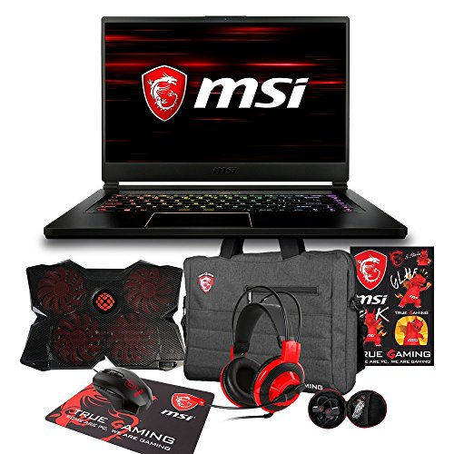MSI GS65 Stealth THIN-050 Enthusiast (i7-8750H, 32GB RAM, 1TB NVMe SSD, NVIDIA GTX 1060 6GB, 15.6