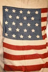 Ralph Lauren Throw Blanket Decorator Us Flag