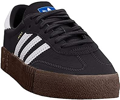adidas Womens AQU90 Sambarose Black Size: 5