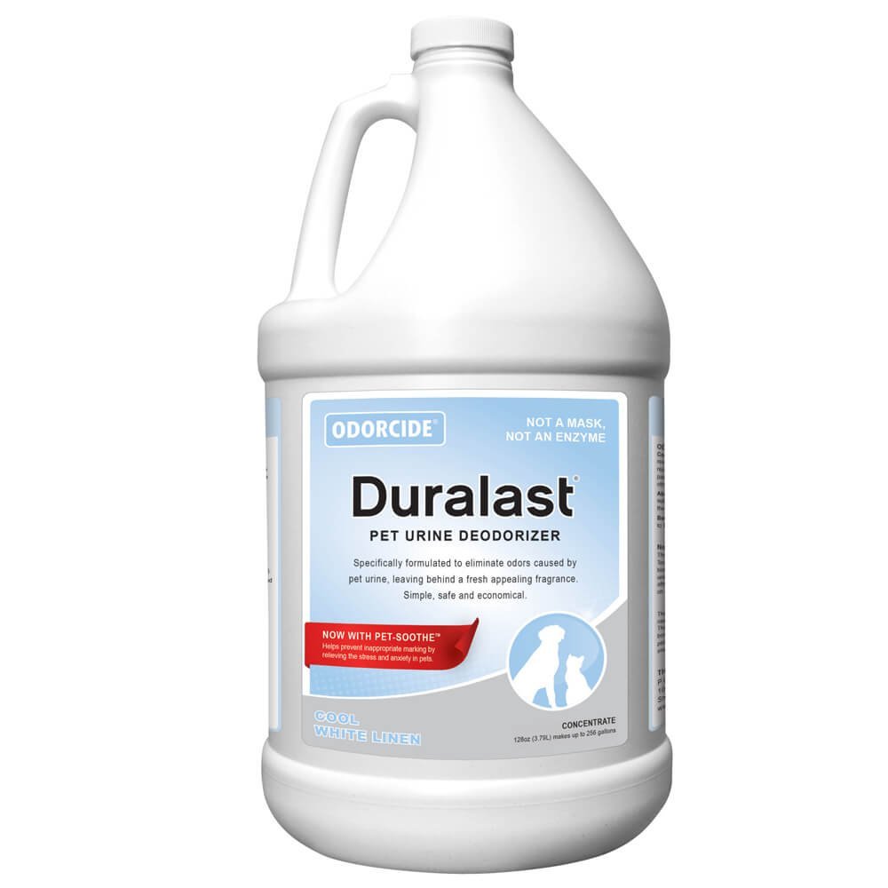 Odorcide Duralast Cool White Linen Concentrate, Gallon Size by Odorcide