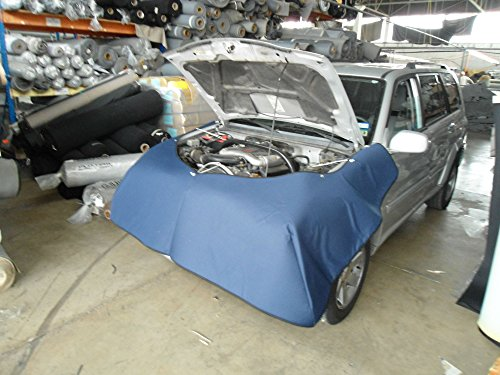 Mechanics Front End Padded Cover Blue Endura