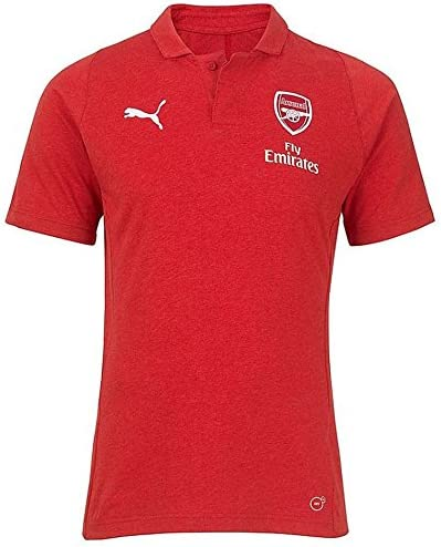 PUMA 2018-2019 Arsenal Casual Performance Polo Football Soccer T ...