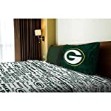 NFL Anthem Green Bay Packers Bedding Sheet Set: Twin