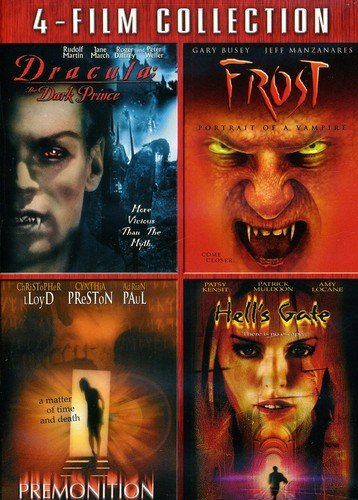 Dracula: The Dark Prince / Frost: Portrait of a Vampire / Premonition / Hell's Gate (4-Film ()
