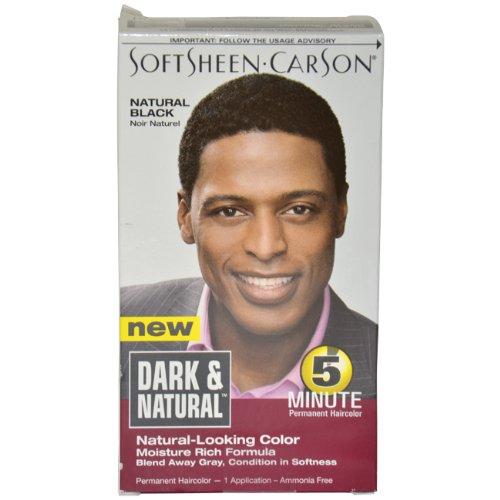 5 Colorant Permanent Minute Dark & Natural, Natural Black