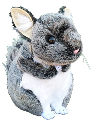 "ADORE 12"" Gizmo the Chinchilla Plush Stuffed Animal Toy"