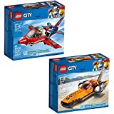LEGO City Great Vehicles City Great Vehicles Bundle Building Kit (165 Piece) Stacking Toys