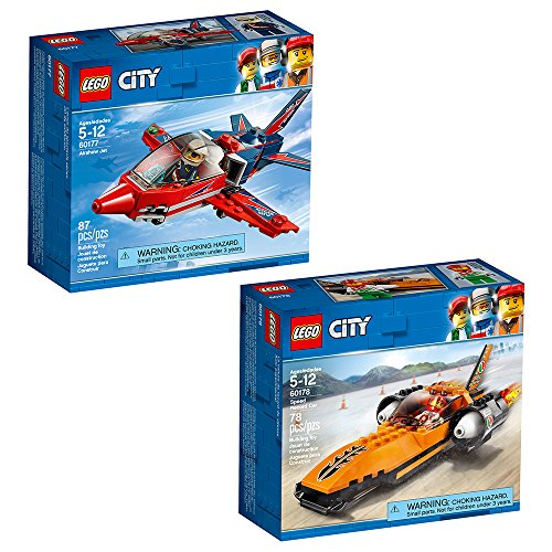 Land Speed Record Car - LEGO City Great Vehicles City Great Vehicles Bundle Building Kit (165 Piece)