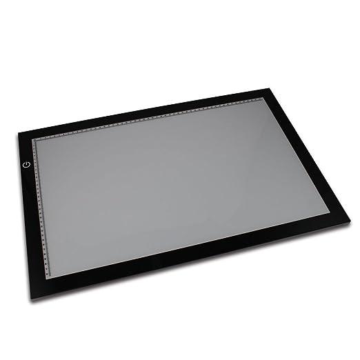 Amazon.com: LED ultrafina A3 Lightbox mesa para calco diseño ...