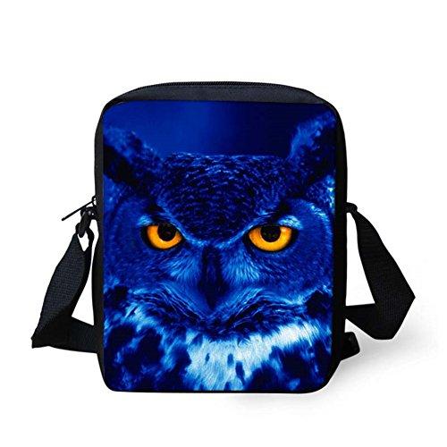 Donna Blue Hugsidea Donna Casual Casual Owl Hugsidea Blue RxdqwYnS