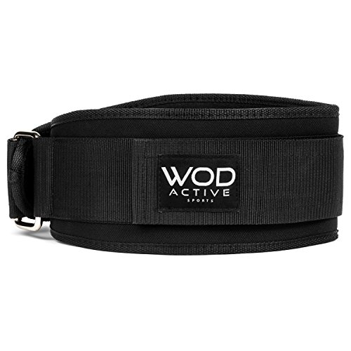 Weightlifting Belt from WodactiveSports Low Profile Easy to use Back Support for Wods, Olympic Lifts, and Powerlifting