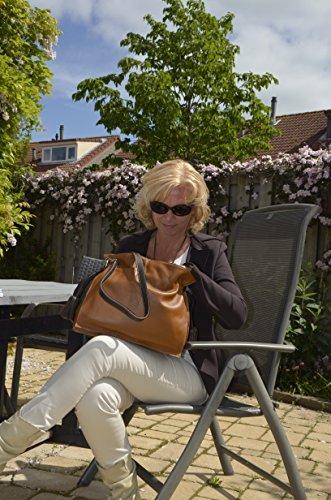 Mocnikova Graziella sac à bandoulière en veau Noir