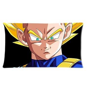 Amazon.com: Dragon Ball Z Goku Custom funda de almohada ...