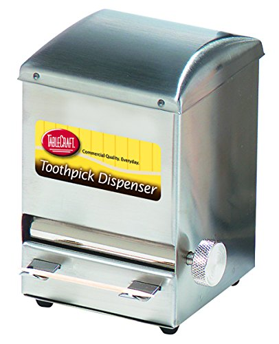 Stainless Steel Toothpick Dispenser (Tablecraft H236 Toothpick Dispenser, NULL)