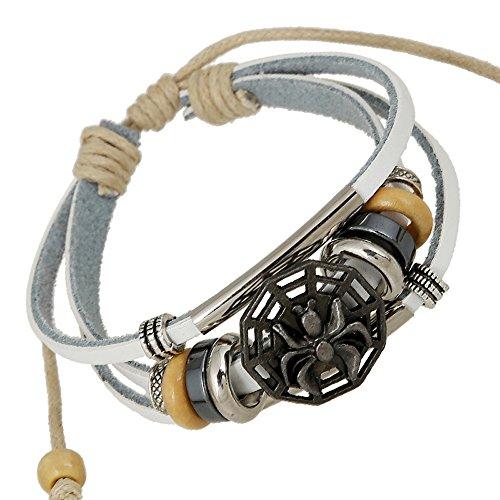 Bracelet Of The November Nocturne Wrap Punk Style Spider Adjustable Length (Tinkerbell Costume Diy)