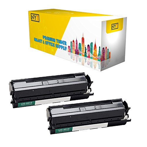 (New York Toner New Compatible 2 Pack UG-5510 High Yield Toner for Panasonic - PanaFax UF 790   DX 800 . -- Black)